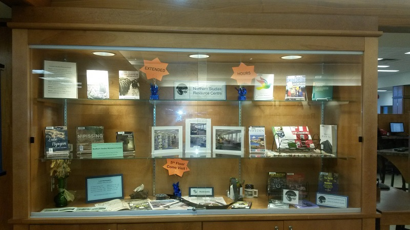 Library Display - Northern Studies Resources Centre