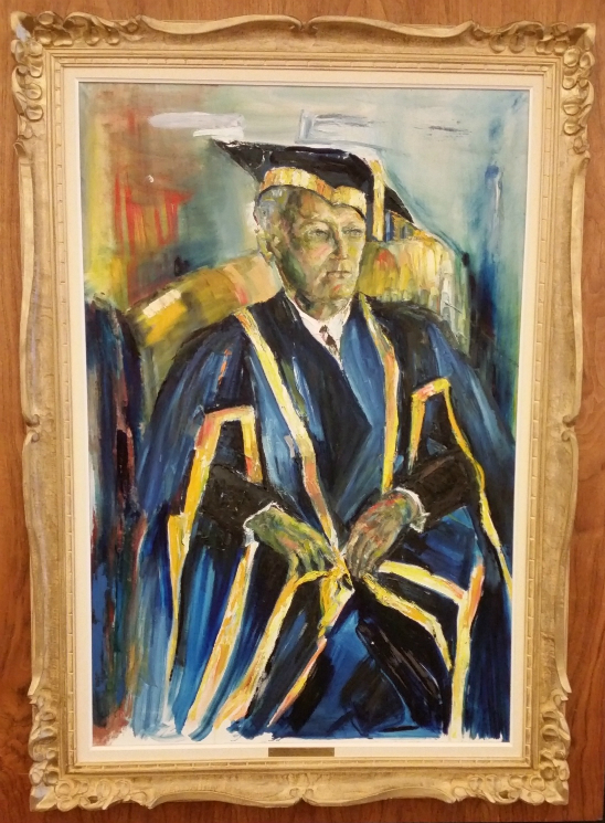 A Portrait of Chancellor Paterson